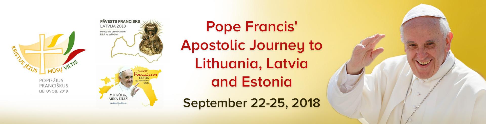 Apostolic Visit 2018 to Baltics