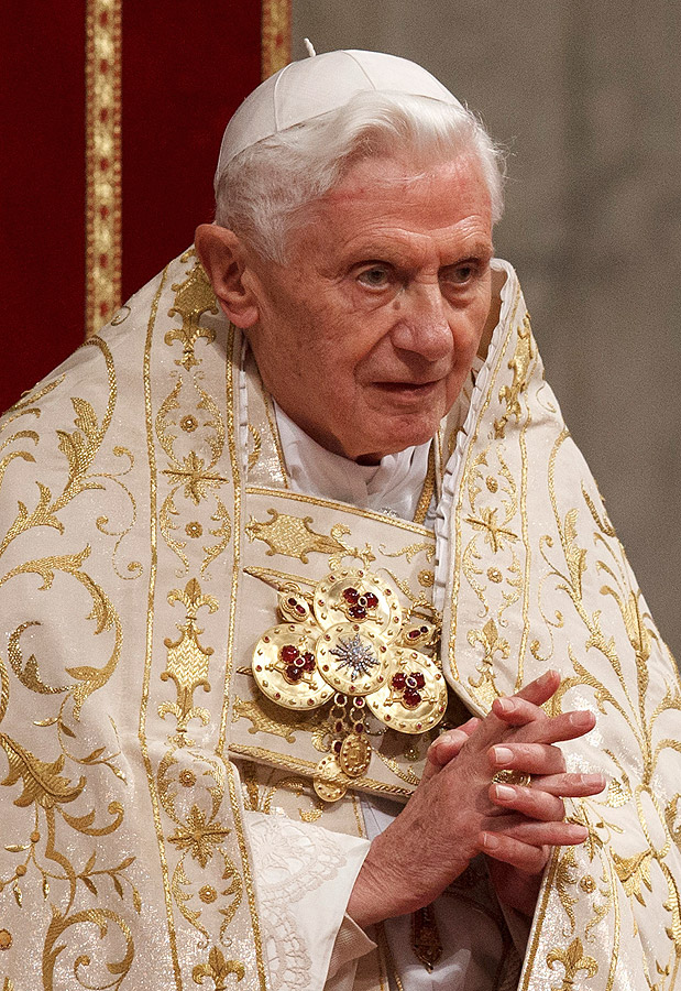 timeline of pope benedict xvi salt light television