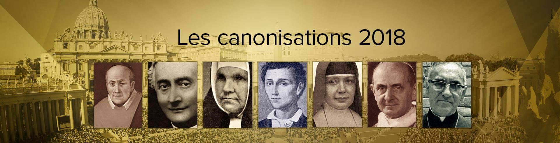 Canonization 2018