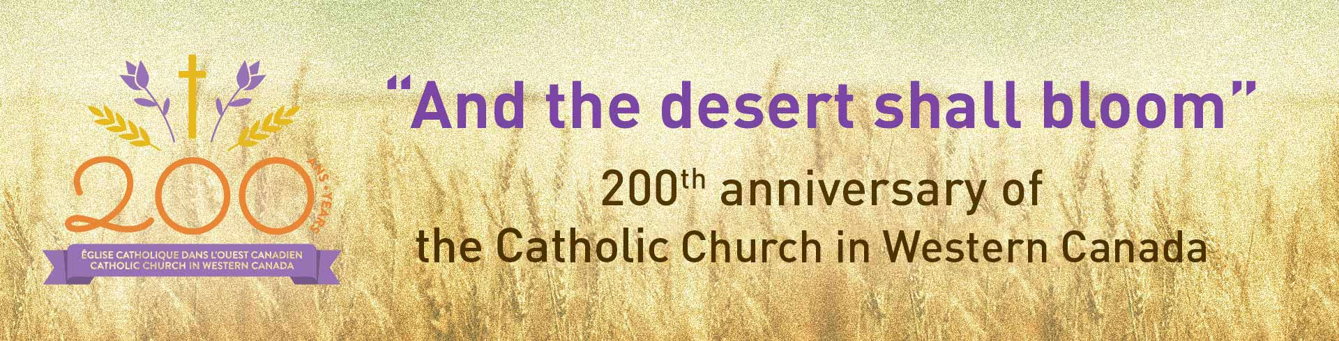 200th anniversary of the Diocese of Saint Boniface