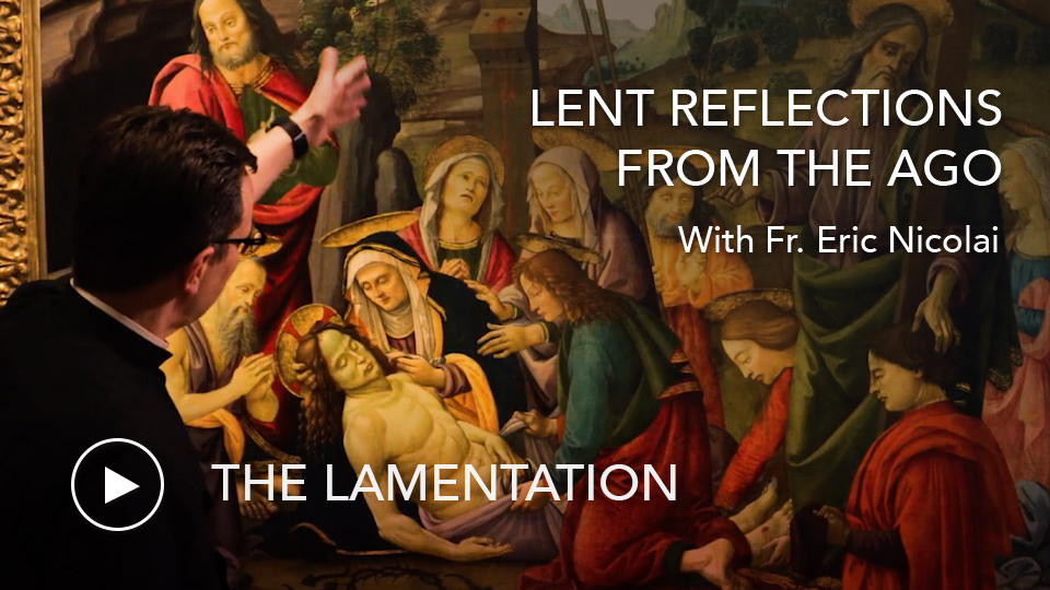 The LamentationLenten Reflections from the AGO