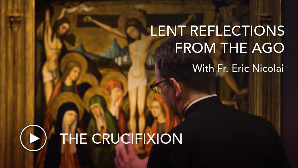 The CrucifixionLenten Reflections from the AGO