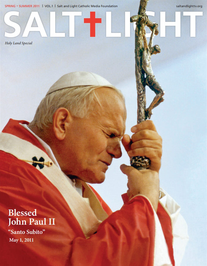 S+L Magazine on Saint John Paul II
