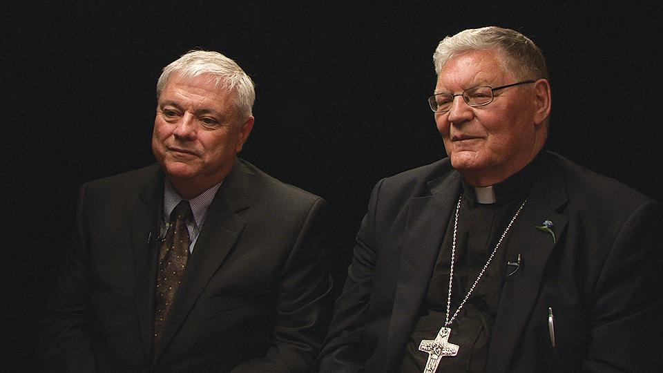 Archbishop Martin Currie & Deacon Mike Walsh