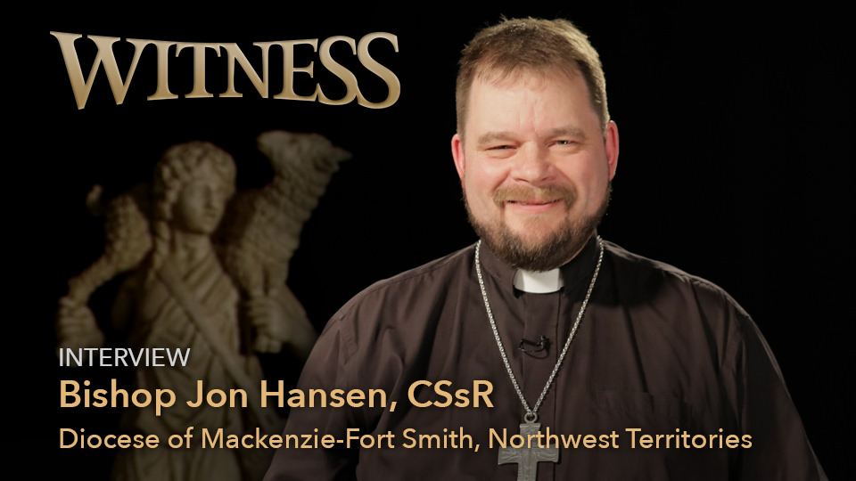 Bishop Jon Hansen, CSsR, Diocese of Mackenzie-Fort Smith, Northwest Territories