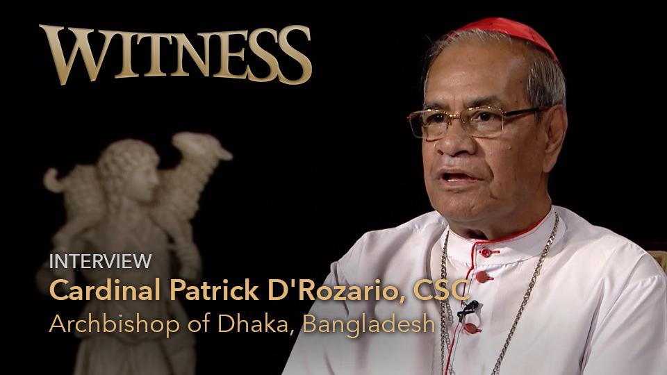 Cardinal Patrick D'Rozario, CSC