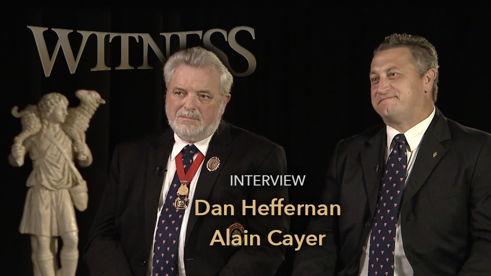 Dan Heffernan and Alain Cayer