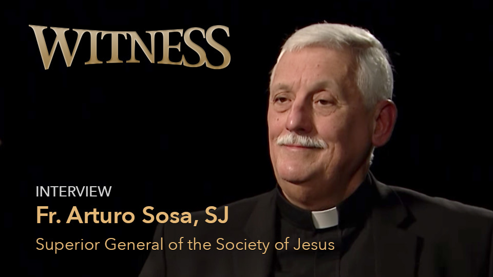 Fr. Arturo Sosa, SJ <br/><span style='font-size:26px;'>Superior General of the Society of Jesus<span>