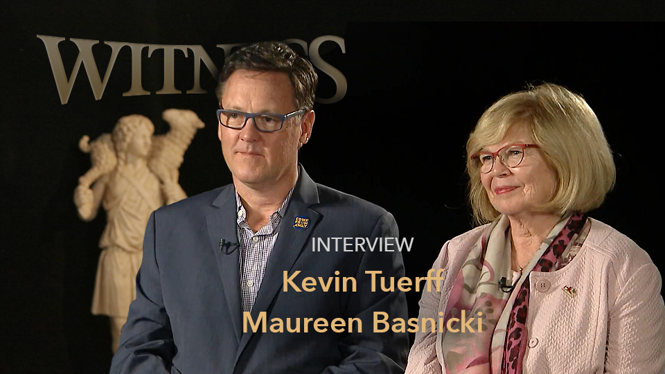 Kevin Tuerff and Maureen Basnicki