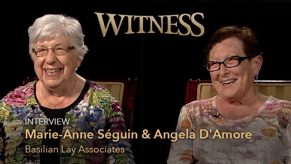 Marie-Anne Séguin and Angela D'Amore, Basilian Lay Associates