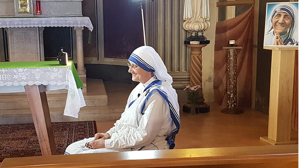 Sr. Prema Pierick, MC, Superior General of the Missionaries of Charity
