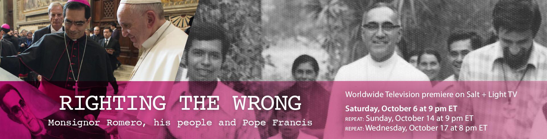 Romero: Righting the Wrong